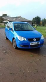 VOLKSWAGEN POLO 1.2 GOOD CONDITION 2005 55 plate