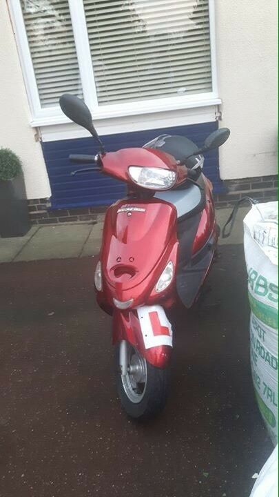 50CC SCOOTER BARGAIN