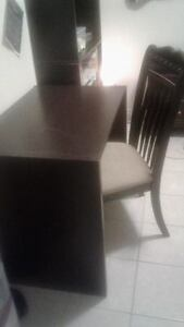 Wooden desk and chair - $75 OBO London Ontario image 1