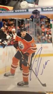 Autographed hockey pictures for sale