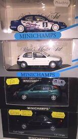 Massive collection of boxed Corgi Vanguards and Minichamps 1/43 diecast inc some rare colours