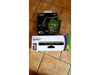 Microsoft Xbox 360 Slim Kinect & Epic Game Bundle Skylanders,Disney 250GB Glossy Black Console