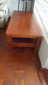 REAL WOOD TEA TABLE OR TV STAND Eastlakes Botany Bay Area Preview