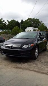 2012 Civic 4 Dr STD ((SUNROOF)) Call or Text 209-9180