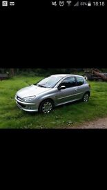 Peugeot 206 1.4 breaking for parts