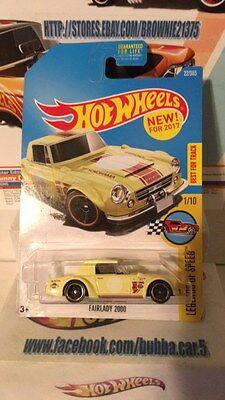 Hot Wheels FAIRLADY 2000 - Yellow New for 2017 Legends of Speed G-case nissan 2k