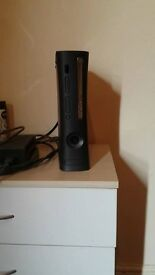 Xbox 360, 120gb Console and Cables.