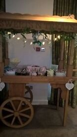 Wedding hire,everything from table decks to candy carts to a full DJ set up.