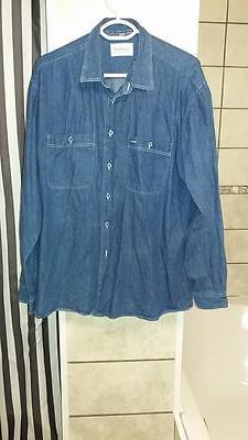 chemise en jeans taille xl
