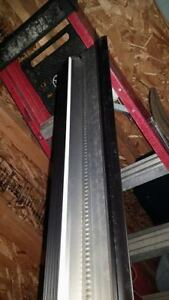 14 Black & 1 1/2 White Roofing starters 10ft long