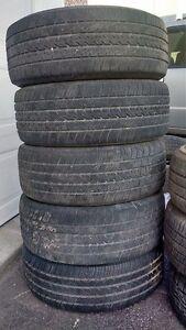 5 pneus Michelin été 225/60R16