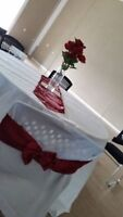 White table cloth for rent