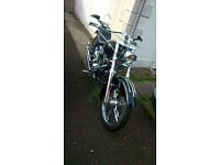 OCC ORANGE COUNTY CHOPPER, BLACK, REVTECH ENGINE, Not a Harley 2004, UK reg