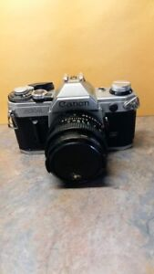 Canon AE-1 35mm Package - Used