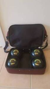 Set of Lawn Bowls with Bag Happy Valley Morphett Vale Area Preview
