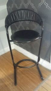 Professional Black Makeup Chair