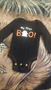 """""""My first boo"""" 0-3 Month outfit"""