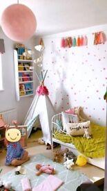 Ikea Minnen Extendable Children's Bed & Mattress