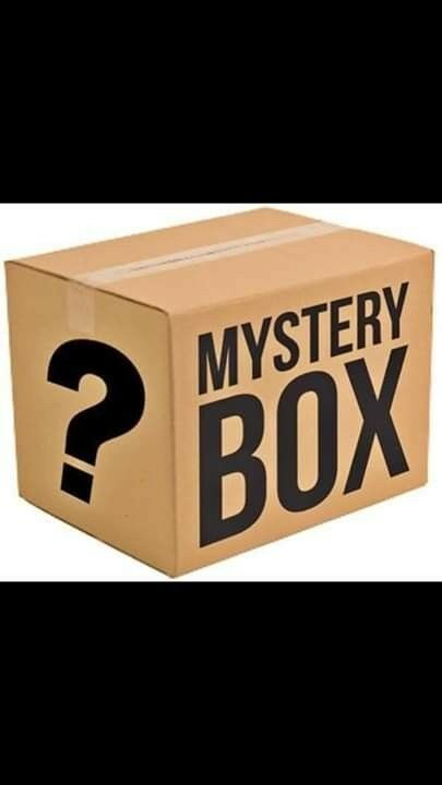 MYSTERY BOX- electronics, clothing, consoles, games, dvds and more, NO TRASH.