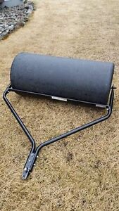 large poly lawn roller for sale