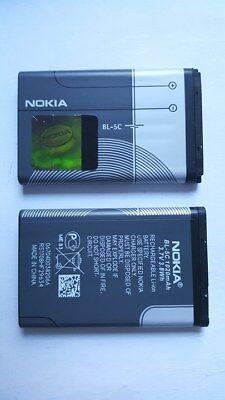ORIGINAL Akku BL-5C Nokia 1100 1600 2300 3100 3650 6230 6230i 6630 N91 7610 N70 gebraucht kaufen  Erfurt