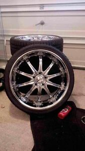 "20"" msr rims and tires"