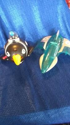 Fisher Price Imaginext Mr Freeze Jet and DC Penguin Submarine(2)