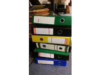 15 x Assorted Ring Binders FREE