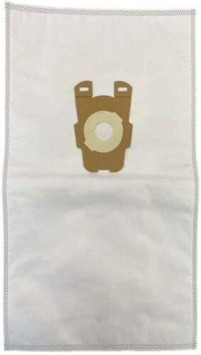 6 Universal HEPA Cloth Bags for Kirby Vacuum F Style Avalir Sentria Vacuum Bags