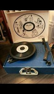 Vintage 1960's Record Player
