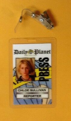 Superman Smallville ID Badge-Chloe Sullivan Reporter