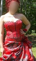 Really beautiful prom dress for sale size 16