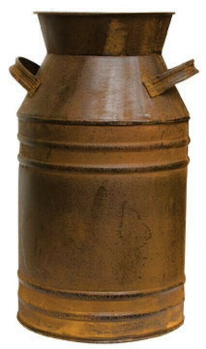 Rustic Decorative Old Fashioned Metal Milk Can