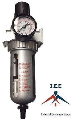 12 Pressure Regulator Particulate Filter Moisture Water Trap Auto Drain