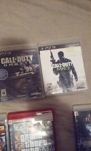 5 Jeux de PS3