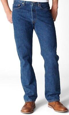 Levi's 501 Original Straight Leg Stonewash 32S