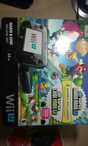Wii U 32go Mario & Luigi Deluxe Set + Zelda: Breath of the wild