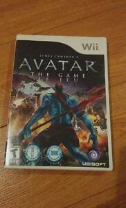 Avatar The Game Nintendo Wii