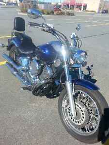 2009 V Star in excellent condition