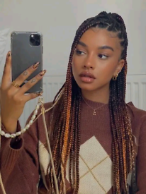 Afro Hairdresser Nottingham |box braids| weave