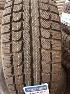 4 pneus d'hiver 185/65/15 Maxtrek M7, Neuf