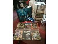 PS3 Bundle. LT PS3 console with controller & games.