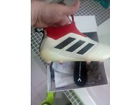 Adidas 17+ pure control in champagne and red £250 ono