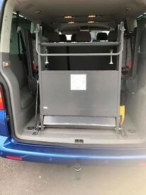 Portable Ramp with Fixings. Very good condition, safe for wheelchairs. £250 offers welcome.
