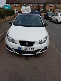 SEAT IBIZA Sport Coupe, 1.4L 2010 White 2 Owners 9 months MOT