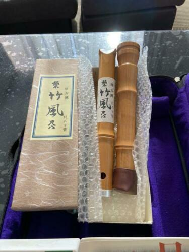 JAPANESE musical instrument SHAKUHACHI bamboo style from JAPAN