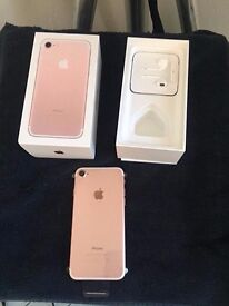 iphone 7 32gb rose gold on virgin for sale no swaps