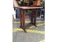 Beautiful Bespoke Antique Singer Treadle Desk