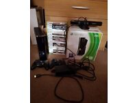 Xbox 360 S 250GB Kinect ready - good condition and good working order.