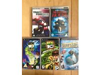 Psp games & movies